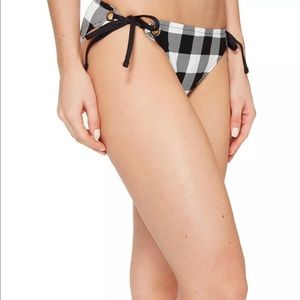 La Blanka black and white bikini bottoms